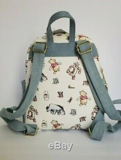 New With Tags! Disney Loungefly Classic Pooh Mini Backpack! Cute