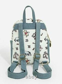 Official Loungefly Disney Winnie the Pooh ClassicMini Backpack Bag