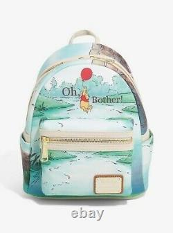 Official Loungefly Disney Winnie the Pooh Oh Bother Mini Backpack Bag Ne