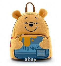 Official Loungefly Winnie The Pooh Hunny Tummy Mini Backpack