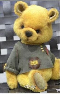 Ooak artist teddy bear winnie the pooh