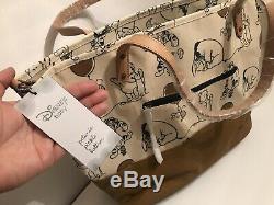 Petunia Pickle Bottom Disney Winnie The Pooh Downtown Diaper XL Tote Bag