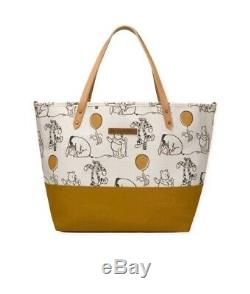 Petunia Pickle Bottom Disney Winnie the Pooh & Friends Downtown Tote Diaper Bag