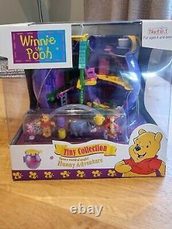 Polly Pocket Winnie The Pooh Honeypot Box Rare Disney Playset Complete