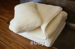 Premium Wool Blanket 100% Wool Australia Double Layer Duvet Merino Comforter