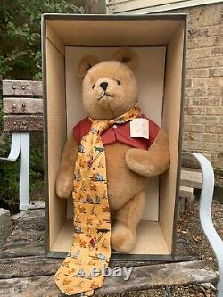 R. JOHN WRIGHT CLASSIC POOH. 12. Mohair plush, fully jointed. #822 out of 2500