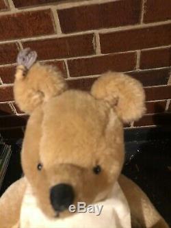 R. John Wright Dolls Winnie The Pooh, LE, 13 tall, Bear with box