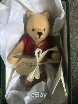 R. John Wright Pocket Pooh Winnie the Pooh Doll Limited Edition Signed RJ Wright
