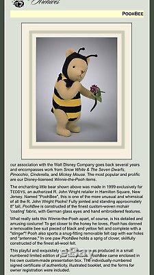 R. John Wright Winnie The Pooh Pooh Bee Doll Ltd Ed For Teddys