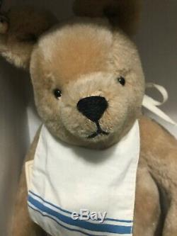 R John Wright Winnie the Pooh Disney NIB W Tags & Pot- Bear Perfect Box Bit Wear