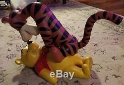 RARE HUGE LARGE Disney Winnie the Pooh Tigger Big Fig Figure Statue