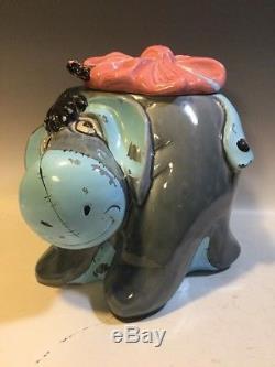 RARE Vintage EEYORE COOKIE JAR Disney Winnie the Pooh CALIFORNIA ORIGINALS #901