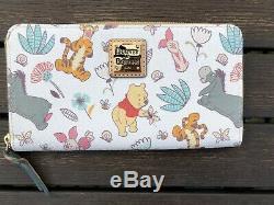 READ Disney Dooney & Bourke Winnie The Pooh Wallet Wrislet Tigger Eeyore & PALS