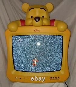 Rare Winnie The Pooh 13 in CRT TV- dt1350-rwp