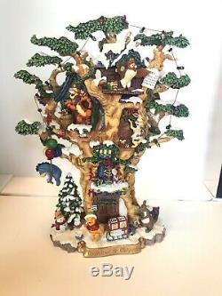 Rare Winnie The Pooh Disney Calendar Bradford Exchange Artist Proof! Plaster Lit