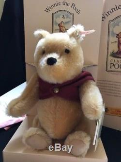 STEIFF Winnie The Pooh Bear 1999 #651489 NEW in BOX