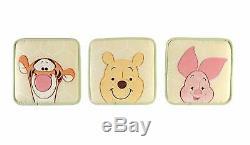 Set Para Cuna Recien Nacido Bebe Juego De Cama HERMOSOS Winnie The Pooh 7 Piezas