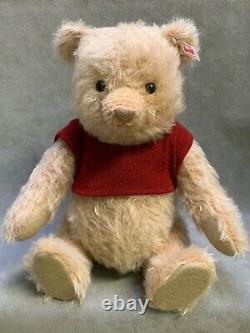 Steiff Christopher Robin Winnie the Pooh Limited Edition. Actual photos, NIB