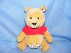 Steiff Disney Winnie The Pooh Bear 683411 Limited Edition