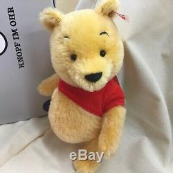 Steiff Winnie the Pooh from Christopher Robin series Ltd 2000 9 inch Brand new