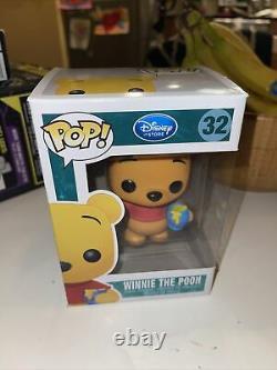Super Rare FUNKO POP Figure Pooh Rare No. 32 Disney SDCC 2012 Exclusive M