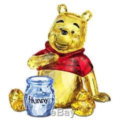 Swarovski #1142889 Disney Winnie The Pooh Brand Nib Crystal Bear Authentic