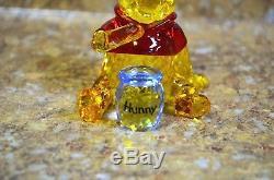Swarovski 1142889 Winnie the Pooh & Pals Crystal Figurine with Honey Pot