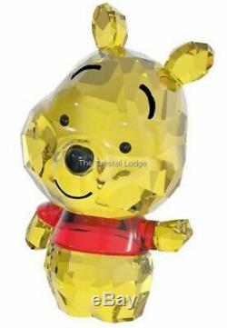 Swarovski Crystal Disney Cutie Winnie The Pooh 5004737 Mint Boxed Retired Rare
