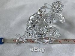 Swarovski Crystal Disney Eeyore, Winnie the Pooh, Piglet and title plaque