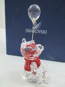 Swarovski Crystal Disney Winnie the Pooh With Balloon 905768 Retired