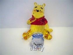 Swarovski Disney Winnie The Pooh (color Version) 1142889 Mib