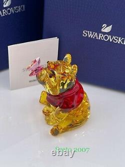 Swarovski Disney Winnie the Pooh with Butterfly MIB #5282928