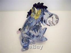 Swarovski Eeyore Disney Winnie The Pooh & Pals Character 1142842 Retired Nib Coa