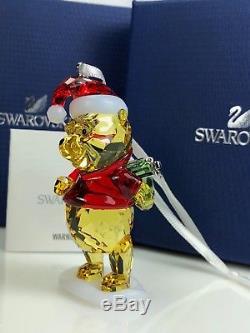 Swarovski Winnie The Pooh Christmas Ornament Mib #5030561