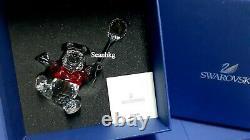 Swarovski Winnie The Pooh Disney Bear Balloon Red/Clear Crystal Authentic 905768