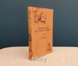 THE HOUSE AT POOH CORNER A. A. MILNE 1929 3rd Edition Incl Dust Jacket
