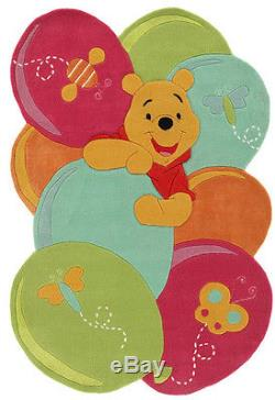 Tappeto taftato a mano Winnie the Pooh Palloncini 115x168 cm Multicolor Disney