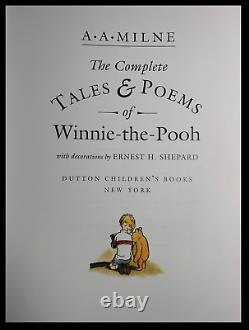 The Complete Tales of Winnie the Pooh Mint Easton Press Leather Bound Hardback