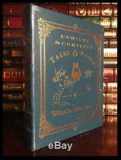 The Complete Tales of Winnie the Pooh Sealed Easton Press Leather Bound Hardback