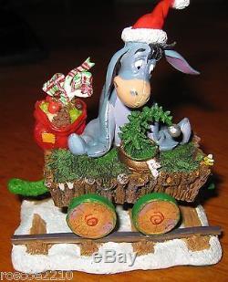 Tigger Holiday Train by Danbury Mint -6 Pieces- In Original Box- Winnie the Pooh