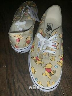 VANS x DISNEY Winnie The Pooh Tennis Shoes/ Sneakers Women's 10.5/ Men's 9 NWOB