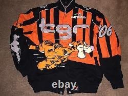 VTG Daytona JH Design TGR 06 Tigger Disney Racing NASCAR Jacket Coat Bomber 500