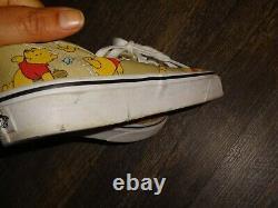 Vans x Disney Winnie the Pooh Sneakers shoes size men's 7.5 women's 9