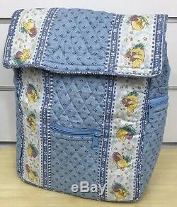 Vera Bradley for Disney Winnie the Pooh Backpack in Periwinkle