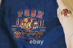 Vintage 1966 Winnie The Pooh Varsity Denim Jacket from Walt Disney World -Medium