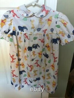 Vintage 70's Girls Winnie the Pooh Dress Sears 6X EXCELLENT