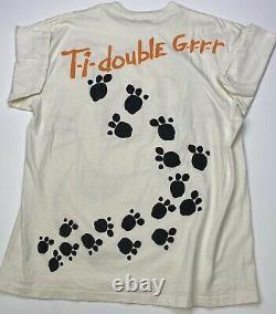 Vintage 90s Disney All Over Print Shirt Tigger Winnie The Pooh Aladdin Rare Vtg