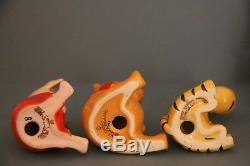 Vintage Beswick England Ceramic Winnie the Pooh Complete Set of 8