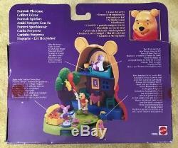 Vintage DISNEY Winnie the Pooh Polly Pocket Play Case NIB 1999 SEALED RARE