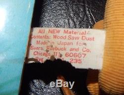 Vintage Disney Sears Stuffed Animal Wood Saw Dust Winnie the Pooh Tigger Eeyore